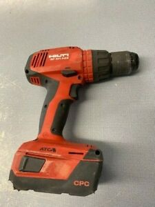 Hilti Sf 6h a22 Cordless Hammer Drill 22v With One 4ah Battery