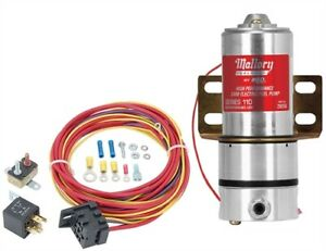 Mallory 29256k Fuel Pump Relay Kit 110 Gph Includes Mallory High Performance