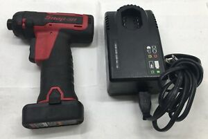 Snap On Cts761a Cordless Hex Micro Impact Driver W Charger 14 4 Volt