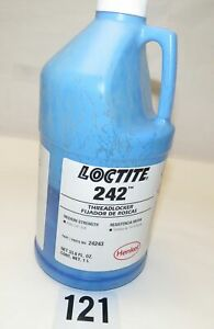 1liter 242 Loctite Threadlocker Blue Medium Strength Bond 33 8 Oz 24243