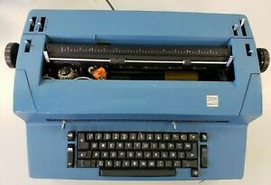 L k Awesome Blue Ibm Selectric Ii Powers On Good Shape Parts Or Repair