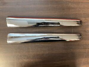 1947 1948 Ford Lh Rh Upper Grille Trim Bars 1 New 1 Used 620