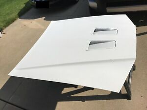 87 88 Oem Ford Thunderbird Turbo Coupe Front Hood Assembly With Scoop Plenum