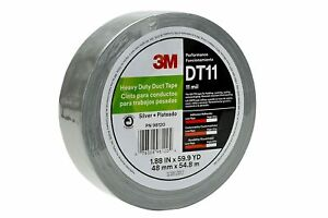 40 Off 24 Rolls 3m Dt11 48mmx54 8m 2 x60yd Silver 11 Mil Duct Tape 17227