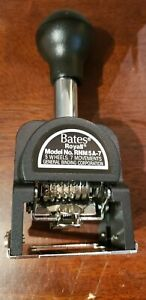 Bates Royall Automatic Numbering Machine Model Rnm5a 7