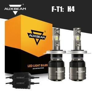 Auxbeam 9003 H4 Hb2 Led Headlight Bulbs Hi Low Beam 70w 8000lm 6500k With Canbus