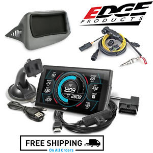 Edge Insight Cts3 W Luxury Interior Dash Pod And Eas Egt Kit Fits 08 13 Duramax