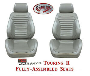 Standard Touring Ii Fully Assembled Seats For 1966 Ford Bronco S Any Color