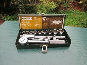 S k Tools 16 Piece Socket Set 3 8 Drive Sk Tools