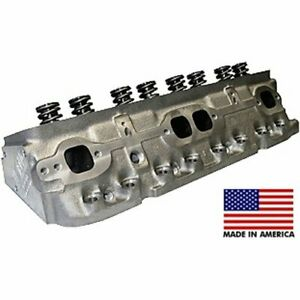 World Products 043600 1 Small Block Chevy S R Cast Iron Cylinder Head