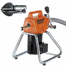 General Wire Root 66 Drain sewer Cleaning Machine W 11 Cables 2 Cutter Sets