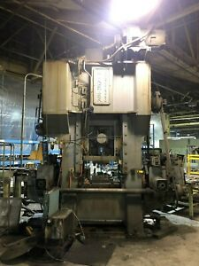 200 Ton Minster Model E2 200 High Speed Straight Side Production Press
