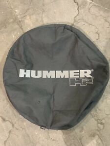 Oem Hummer H2 Logo Heavy Duty Automotive Grade Vinyl Band Black Spare Tire Cover