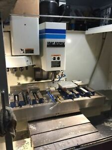 Fadal 5020a 3 axis 7500rpm Spindle 22 5hp Cnc Mill W 88hs Control New 1998