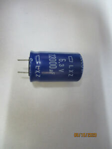 12000 Uf 6 3v 105 Degree Capacitors bag Of 10 Pcs