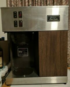 Vintage Bunn Pour omatic Vpr Commercial Coffee Machine Leaks Makes Hot Coffee