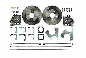 Right Stuff Trd4705 Gm 10 12 Bolt Rear Disc Brake Conversion