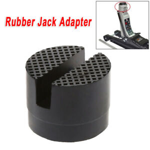 Rubber Slotted Rail Adapter Hydraulic Floor Jack Guard Protector High Quality