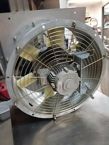 Nuaire Fan Bc56q52gns1 3sf 690v 60hz 3 Phase 1698 Rpm 22 Inch Diameter
