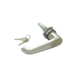 Trunk Handle With Cylinder Chrome With 2 Keys Ford 32 11187 1