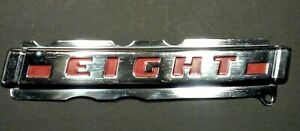 Nos 1946 1947 1948 Mercury Eight Trunk Emblem The Eight Emblem Only