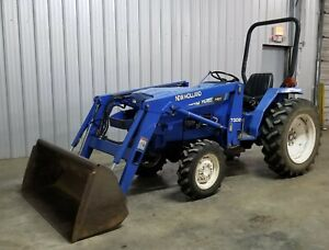 4wd New Holland Tc30 Loader Tractor 4x4 Ie T1510 T1520