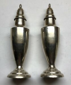 Vintage Mpn Sterling Silver Mexico Salt And Pepper Shaker Set 72 6 Grams