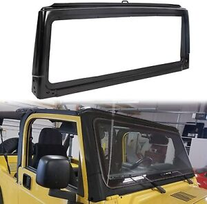 Black For 2003 2004 2005 2006 Jeep Wrangler Front Windshield Frame 55395014ab