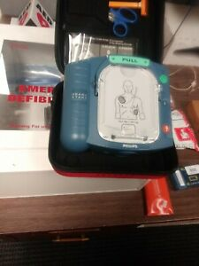 Philips Heartstart Hs1 Aed Defibrillator Nos Parts Never Used Exp See Descript