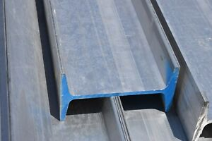 Qty 8 Aluminum I Beam Structural 6 X 3 5 X 70 Long Retaining Wall Frame