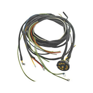 Model A Ford Lighting Wire Harness Without Cowl Lamps For 2 Bulb System