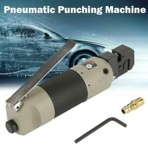 Pneumatic Air Panel Flange Punch Tool Autobody Sheet Metal Hole Puncher 3 16 Us