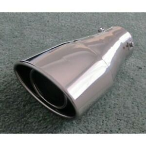 3a Racing 62 5105 Oval Truck Suv Bolt On Stainless Steel Exhaust Tip 3 5 Inlet