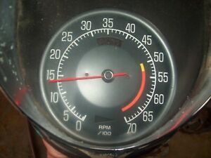 1975 1977 Corvette Used Gm Tachometer Assembly