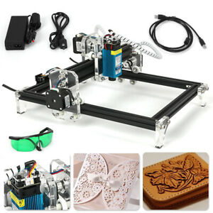 Cnc 2419 Engraving Machine Mini Diy Wood Router Grbl Control W 500mw Laser