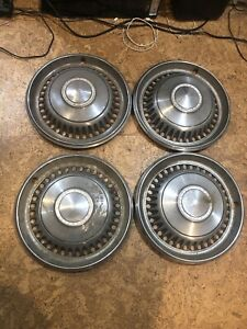 Chevrolet Motor Division Hubcaps 14 Vintage Wheel Covers Set Of 4 68 70