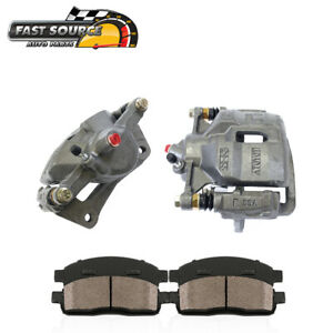 For 1993 1994 1995 1997 Toyota Corolla Front Brake Calipers Ceramic Pads