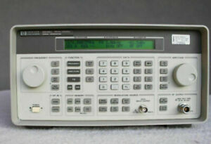Hp Agilent 8648c Signal Generator 100khz To 3200mhz Tested With Data