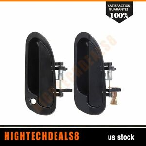 For Honda Accord 1998 2002 Outer Set 2 Outside Front Rear Left Lh Door Handles
