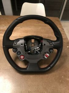 Ferrari 488 Steering Wheel Red Stitching Oem Equipment