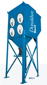 Donaldson Torit Dfo2 4 Dust Collector With Nyb New York Blower Fan Dfo 2 4