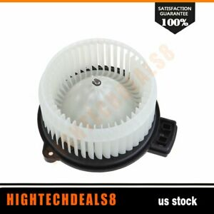 Ac Hvac Heater Blower Motor With Fan Cage For Honda Fit 2009 2014 Abs Plastic