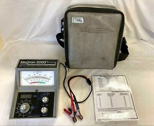 Midtronics Midtron 5000 Battery Conductance Tester Cased
