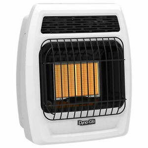 Dyna glo Irss12lpt 2p Liquid Propane Infrared Vent Free Thermostatic Heater