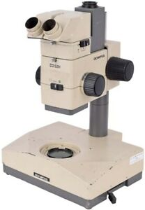 Olympus Optical Szh illd Lab Zoom Stereo Microscope W base No Eyepieces camera