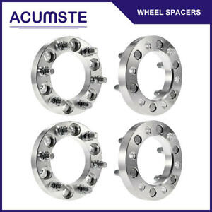 4pcs 1 Inch 6 Lug Wheel Spacers Adapter 6x5 5 For Chevy Gmc Cadillac 14x1 5
