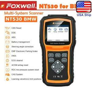 Foxwell Nt530 For Bmw Mini Obd2 Diagnostic Scanner Tool Abs Srs Code Reader