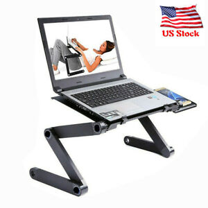 Durable Portable Foldable Notebook Laptop Desk Table Stand Bed T
