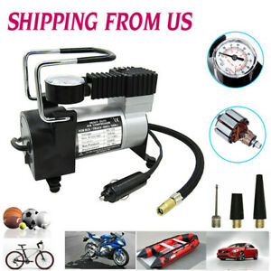 Portable Heavy Duty 12v 150psi Air Compressor Pump Car Truck Tire Inflator Tool