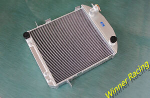 70mm Aluminum Radiator Fit Ford Model T Bucket Hot Rod W Ford Engine 1924 1927